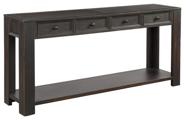 Console Table For Entryway Hallway Sofa, Console Table With Storage Bins