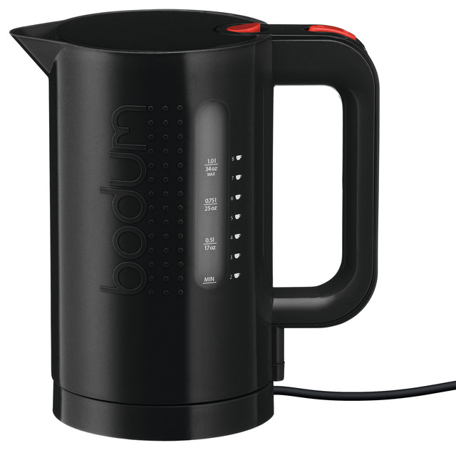 Best Coffee Maker Under Usd 80 : Bodum Bistro Electric Water Kettle, 1.0 L, 34 Oz - Contemporary - Kettles - by Bodum USA, Inc.