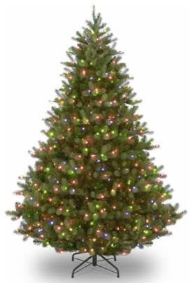 9 Feel Real Douglas Fir Christmas Tree With 700 Multi Led Lights