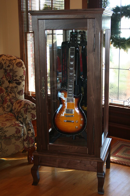 Keith Urban Guitar Display Case Traditional Furniture