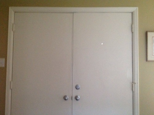 Ordinaire Need Help Attaching Wood Trim To Metal Door