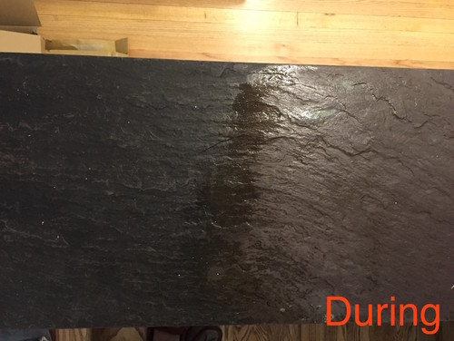 Slate Tile Cleaning Are These Spots Natural