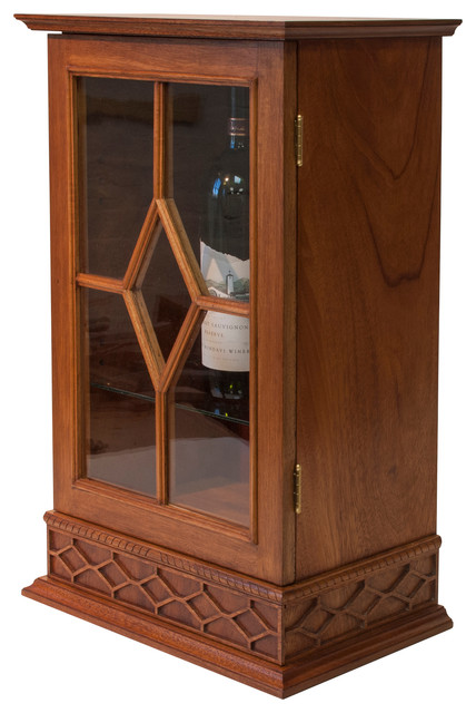 Scotch Or Wine Display Cabinet