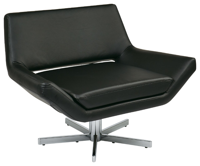 Ave Six Yield 40 Quot Wide Chair Black Contemporary