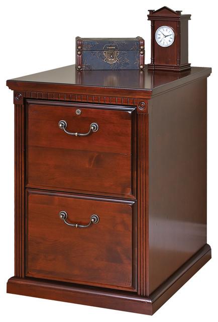 Stafford 2-Drawer Filing Cabinet, Burnish.