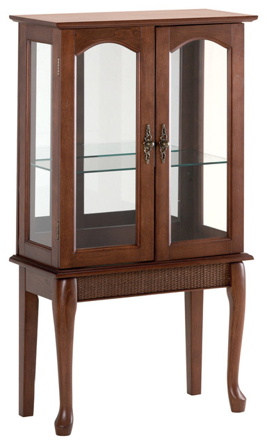 Furniture Creations simply elegant curio cabinet - China Cabinets And Hutches | Houzz