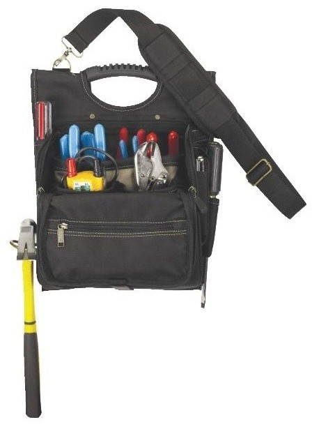 21-Pocket Electrician&x27;s Tool Pouch.