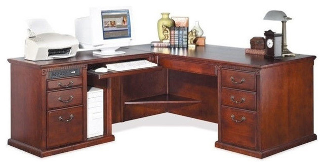 furniture huntington club office computer desk traditional desks