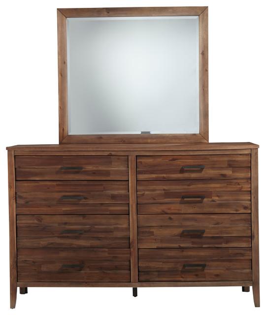 Cresswell Brown Dresser Mirror.