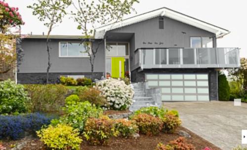 How To Modernize My Mid Century Split Level House Exterior?