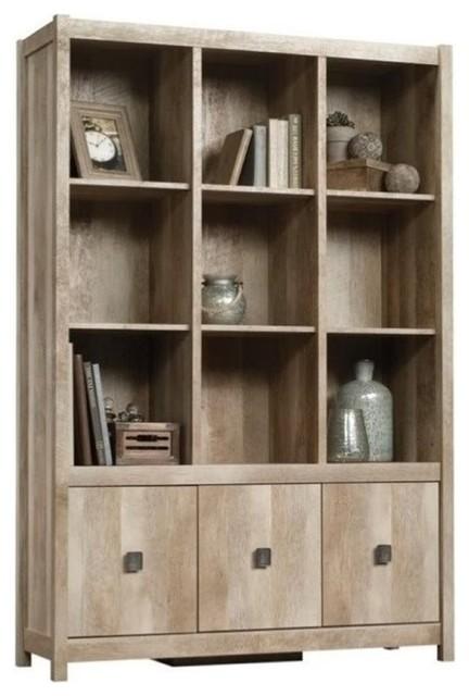 Bowery Hill 9 Cubby Bookcase in Lintel Oak