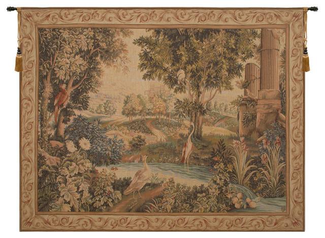 Verdure Aux Oiseaux II, European Wall Tapestry, 48\