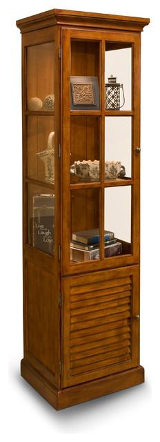 Philip Reinisch Co. Color Time Hampton Display Cabinet ...