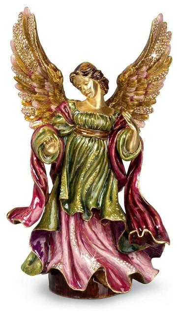 Jay Strongwater The Angel Figurine Jewek Finish