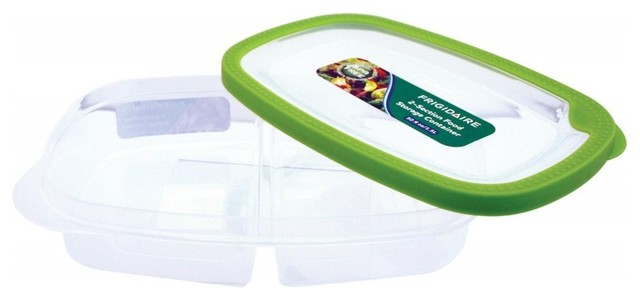 Frigidaire 2 Compartment Bento Lunch Box Container Asian