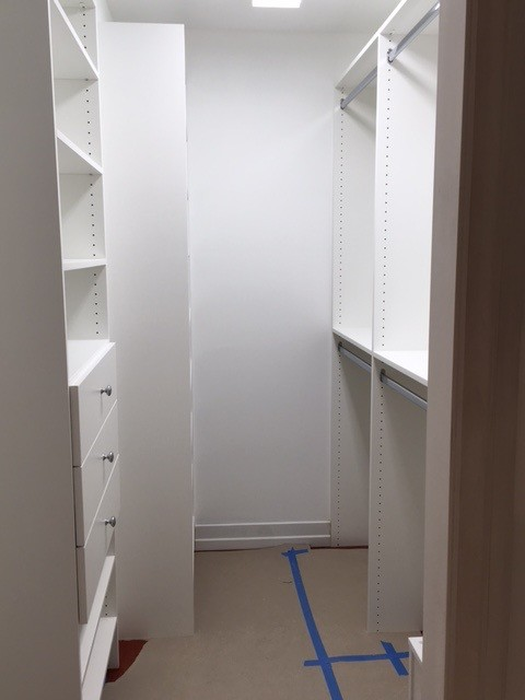 Hers & His Walk-in closets and Bathroom Cabinet - Hendersonville, NC