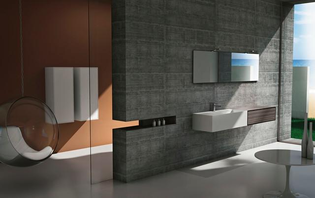Modern bathroom vanities cubik in san diego modern for Bathroom vanities in san diego