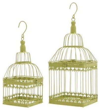 Bird Cage with Unique and Solid Design - Set of 2