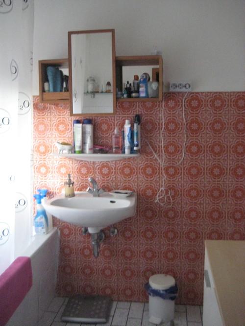 Ugly Old Bathroom Remake - Bathroom remake