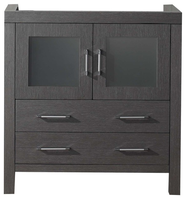 Virtu Usa Dior 32 Bathroom Vanity Cabinet Transitional Vanities And Sink Consoles By Burroughs Hardwoods Inc