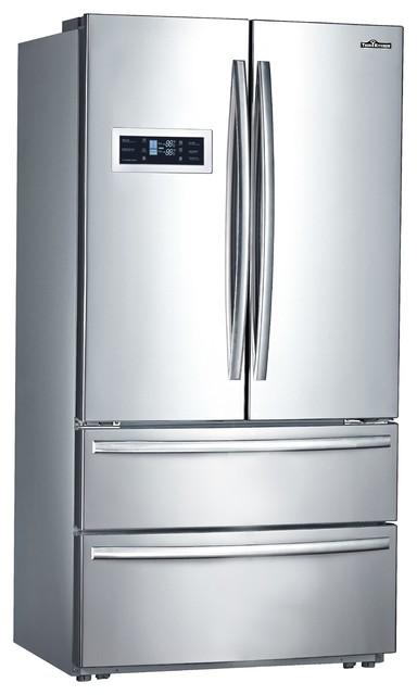 36 Thor Kitchen Counter 4 Door French Door Refrigerator Ice Maker
