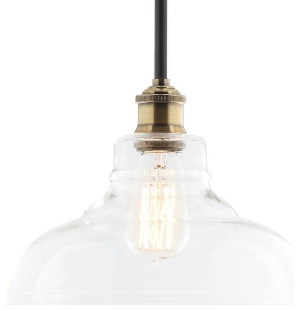 Anise industrial pendant light transitional pendant lighting anise industrial pendant light antique brass fixture only aloadofball Gallery