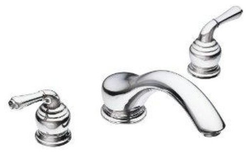 Moen Monticello 2 Handle Chrome Roman Tub Faucet 86950