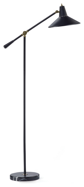 Nelson Floor Lamp - Contemporary - Floor Lamps - by Adesso