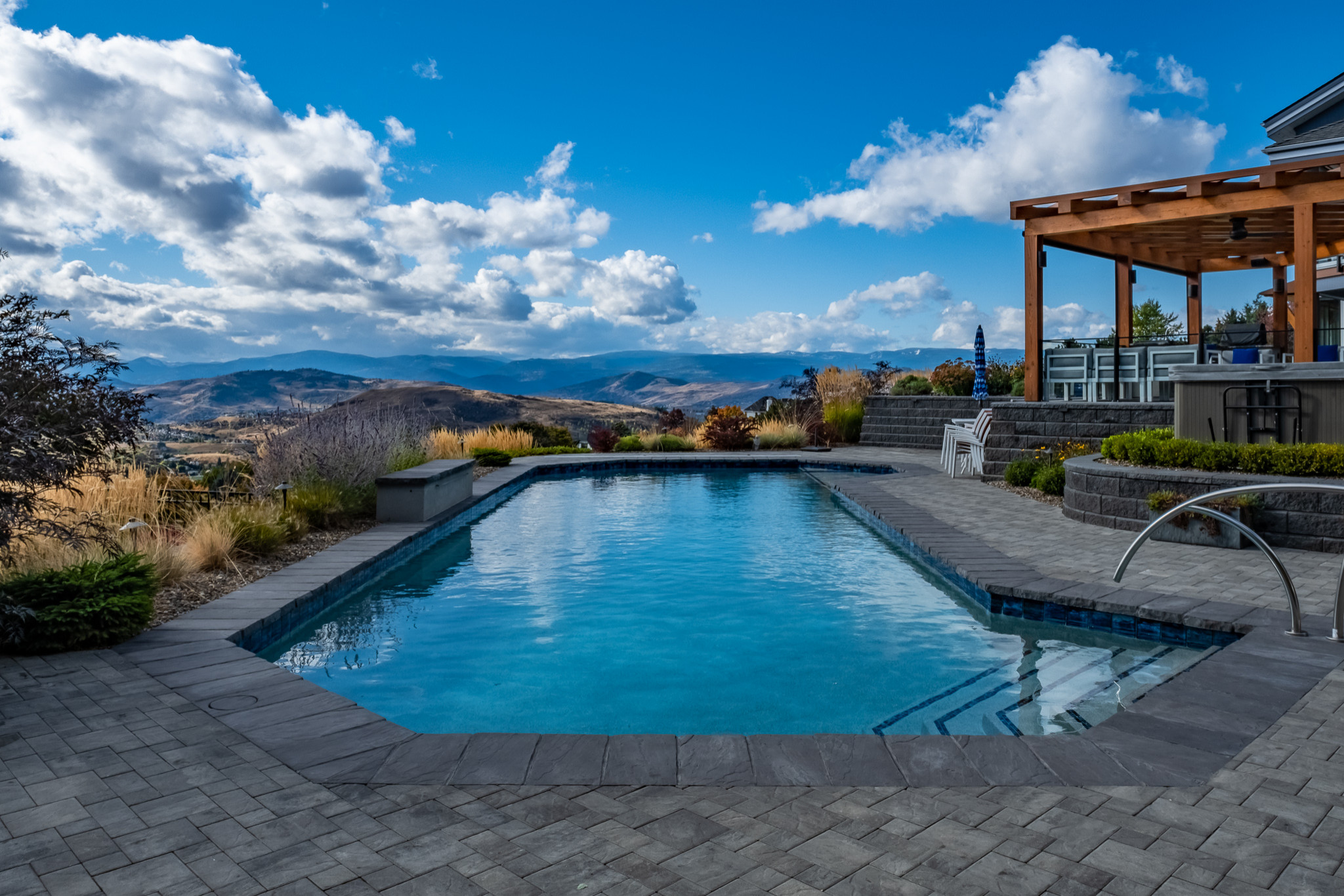 Concrete Pool with a View