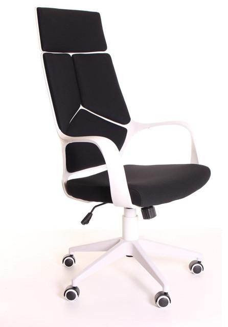 Genial Modern Ergonomic Office Chair Black White   Office Chairs   By Vera Supply  LLC