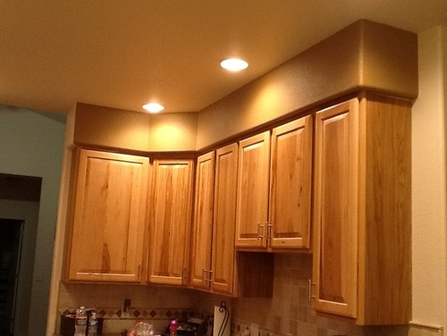 Kitchen Soffit Ideas Captivating Need Help With Ugly Soffit Above Kitchen Cabinets Design Decoration