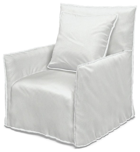Fabulous Armchair Ghost White Linen Gamerscity Chair Design For Home Gamerscityorg