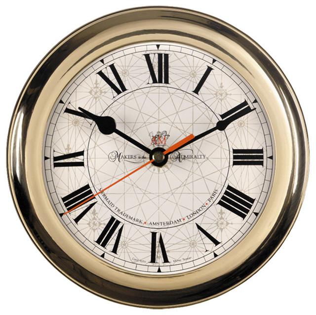 AM Round Wall Clock
