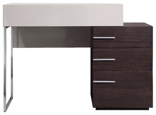 Modrest Daytona Modern Brown Oak Vanity Dresser contemporary dressers. Modrest Daytona Modern Brown Oak Vanity Dresser   Contemporary