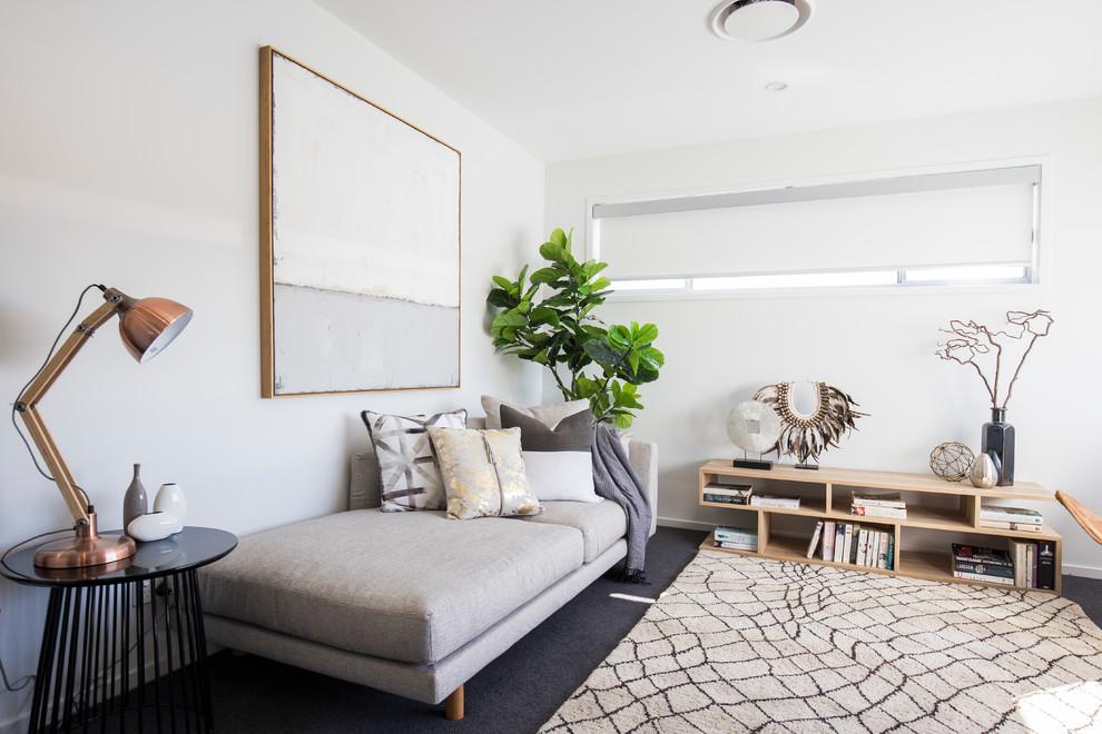 Trendy home design photo in Brisbane