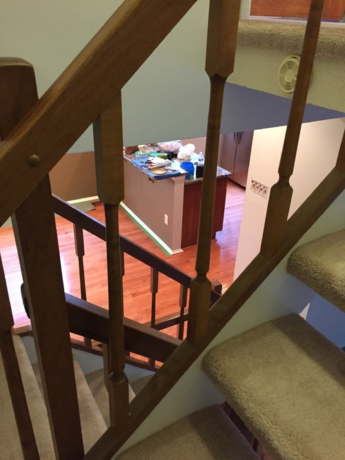 Stair Railings Temporary Diy Solution