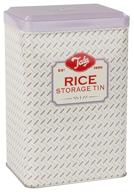 Rice Storage Tin   Contemporary   Food Storage Containers   By Andersonville  Kitchen U0026 Bath