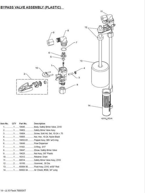 Kinetico Water Softener Parts Diagram Periodic