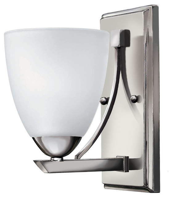 Shop Houzz Hinkley Lighting Hinkley Lighting 5250 Pinnacle Wall Sconce Bathroom Vanity Lighting