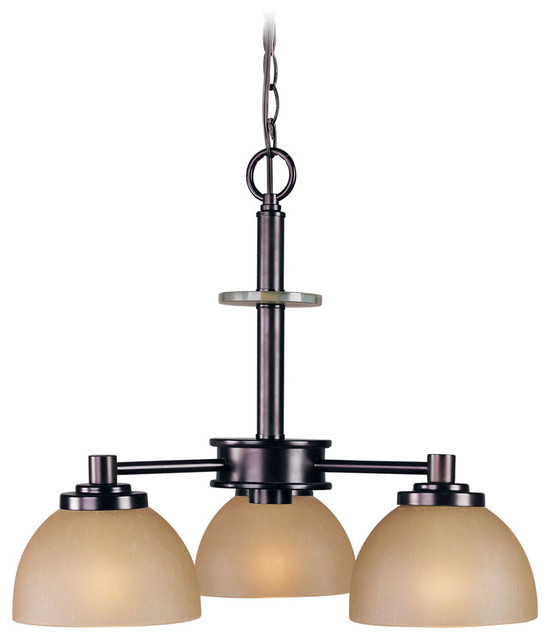 Ajo 3-Light Chandelier - Transitional - Chandeliers - by Woodbridge Lighting Inc.