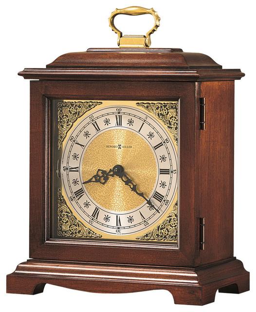 Howard Miller Dual Chime Vintage Mantel Clock Graham Bracket Iii