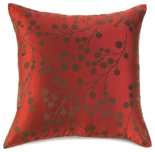 Shop Houzz All J s Gifts and Treasures Cherry Blossom Throw Pillow - Decorative Pillows