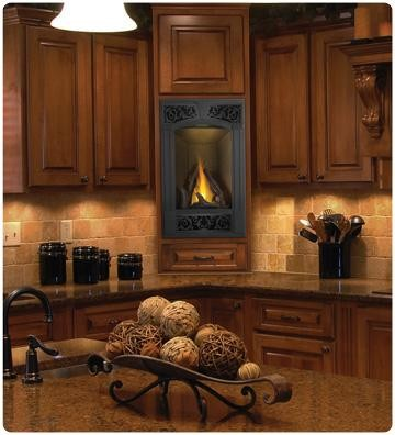 Flame and heat control Fireplace