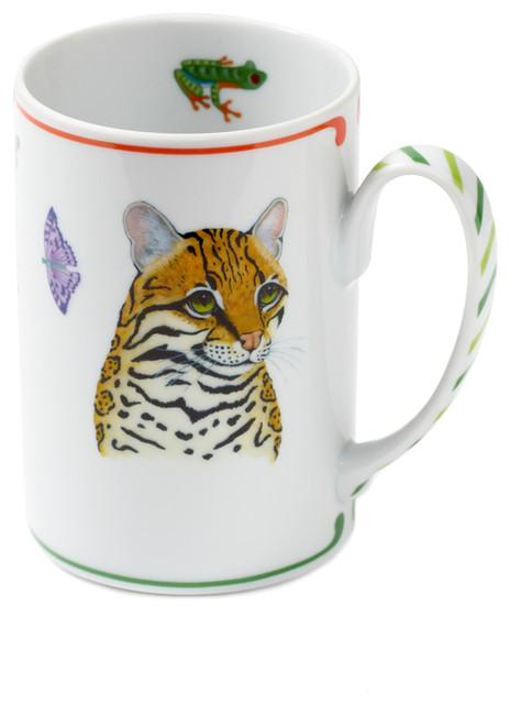 Rainforest Mugs, Set of 4