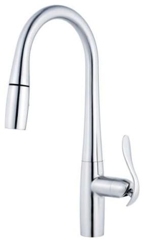 Danze D454411 Selene Single Handle Kitchen Faucet Contemporary