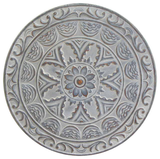 Metal Medallion Wall Art medallion wall decor - mediterranean - metal wall art -gwg outlet