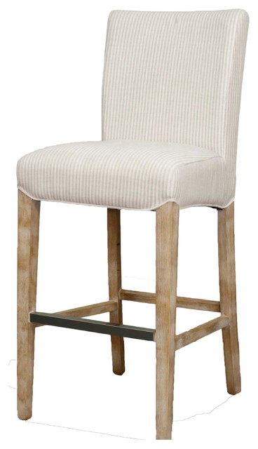 fabric bar stool tan stripes transitional stools counter uk breakfast australia