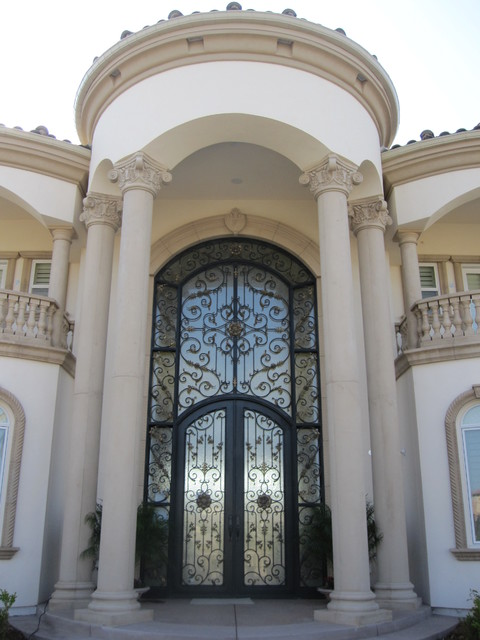 Precast architectural trim and accents mediterranean for Window design cement