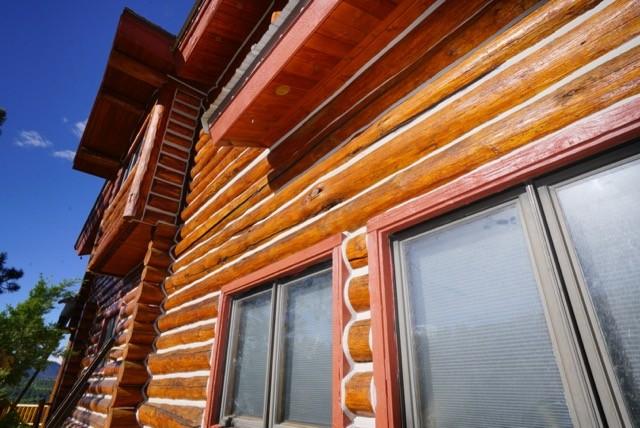Log Home Restoration Canyon City Colorado