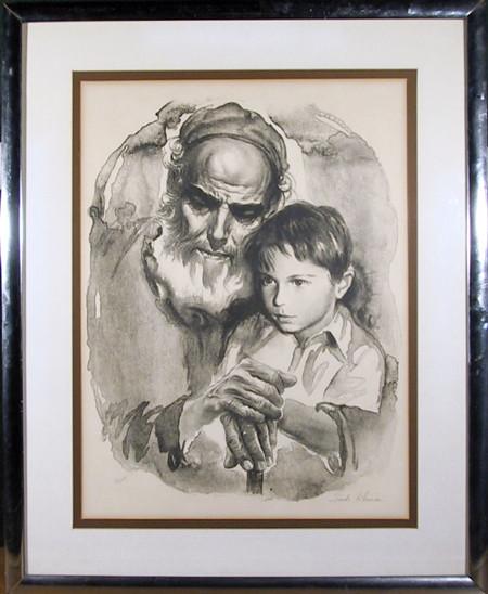 RoGallery Sandu Liberman, Father and Son, Lithograph ... - photo#48